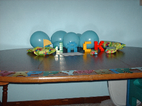 Birthday tableau for Jack, 3