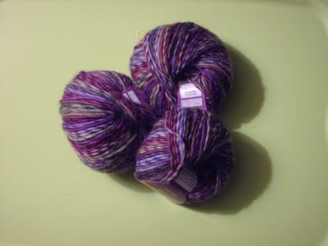 "Soft and pretty ""reward yarn"""